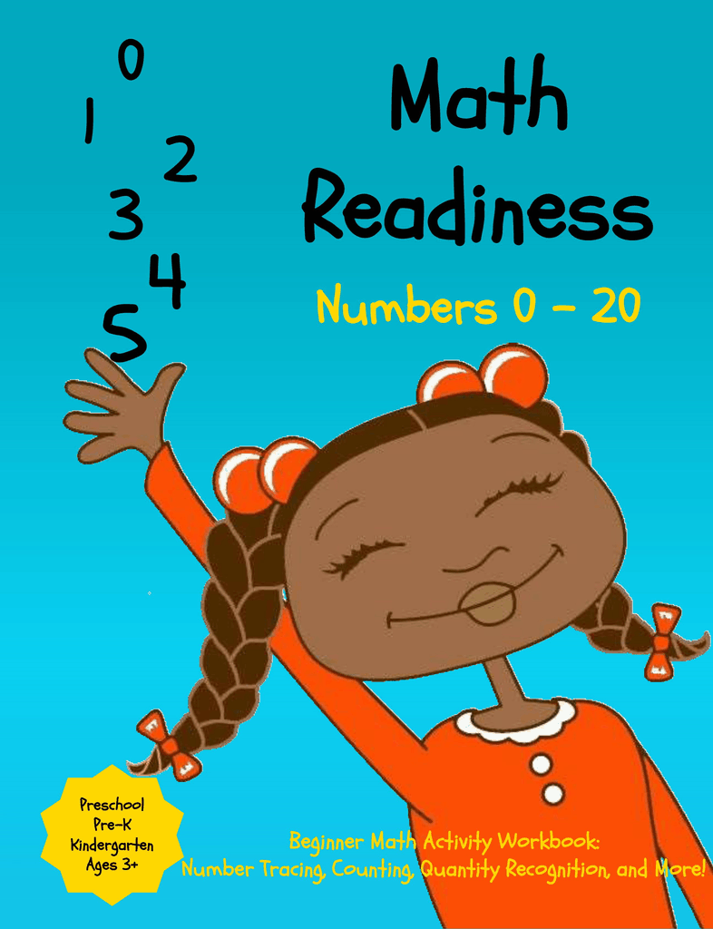 Preschool Math Readiness Workbook: Beginner Math Skills for Pre-K, Preschool, Kindergarten, Kids Ages 3 – 6, and Toddlers: Trace Numbers, Counting, ... Diversity (Mosaic Mix Learning Series)